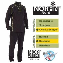 Термобельё Norfin Nord 3 Слой (Ткань: NORFleece Micro: 100% Polyester) 60-62/XXL