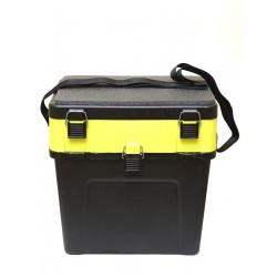 Ящик Зимний Три Кита Чёрно-жёлтый (380x260x240мм/Пластик)