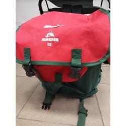 Рюкзак Master Green/Red 02 (со стулом)