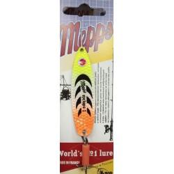 Блесна Колеблющаяся Mepps Syclops N1 (12g/White Yellow Orange) 1упак*5шт