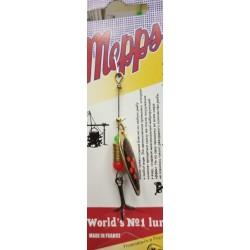 Блесна Вращающаяся Mepps Aglia Long N1 (4,5g/Gold Fluo Orange)