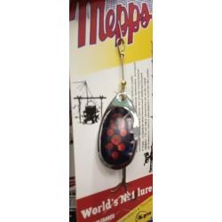 Блесна Вращающаяся Mepps Aglia N3 (6,5g/Silver Fluo Red)