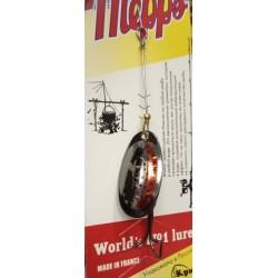 Блесна Вращающаяся Mepps Aglia N2 (4,5g/Silver Red Trout)