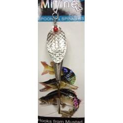 Блесна Вращающаяся Mifine KX8032 (9g/5-Nickel)