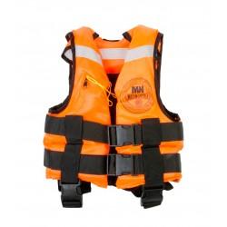 Спасательный Жилет Mednovtex Оранжевый (Сертифицированный)  до  35кг