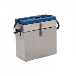 Ящик зимний Стэк Оцинкованный/2-х секционный (28 литров)