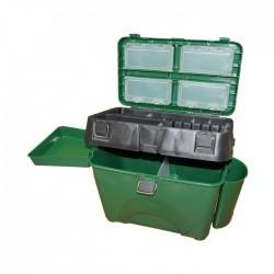 Ящик зимний Кан Comfort (зеленый/пластик)