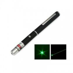 Лазерная Указка GLP L04-4 (QC Passed 1) (Зелёная/4 Насадки/2xAA)
