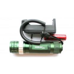 Фонарь Ручной Power Style 901 (10000W/5800mAh/ЗУ+Прикуриватель/Магнит/Красный Аварийный Маяк)