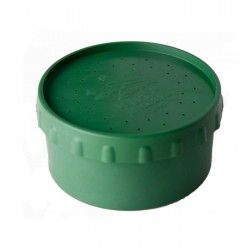 Коробка для наживки Три кита Ч-4 (червячница/зелёная)