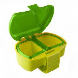Коробка для наживки Три кита Ч-5 (червячница под ремень/2 отделения)