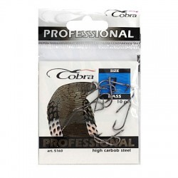 Крючки Cobra Bass N10 (5160(103)/10шт) 1связка*10упак
