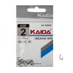 Крючки Kaida Iseama W/R N4 (100404/10шт) 1связка*10упак