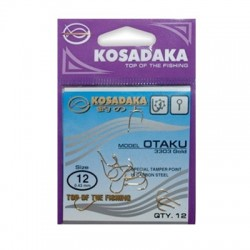 Крючок Kosadaka Otaku 3303Gold-6/0.56mm (1упак*11шт) 5 упак