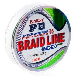 Шнур Kaida Braid Line Strong (Green/0