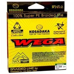Шнур Kosadaka Wega green 150/0.10