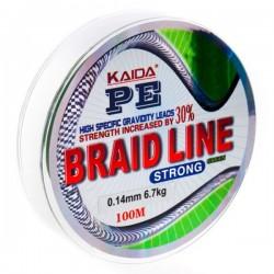 Шнур Kaida Braid Line Strong (Gray/0