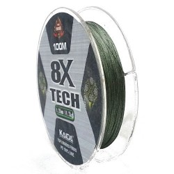 Шнур Kaida 8X Tech (Green/0
