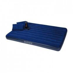 Матрас надувной Intex 68765 (203*152*22+насос)