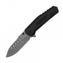 Нож Мастер К M9649/Browning (Сладной/Сталь-420/Рукоять-Металл/Чехол-Нет)