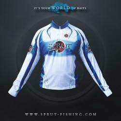 Футболка Sprut Ghost of Water (с Длинным Рукавом/White/Blue/  S)
