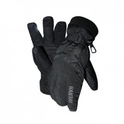 Перчатки Handai HD 3002 Fan-Tex® (Polyester/Genuine Leather/Fresh Dry™/Thinsulate™/Black) L