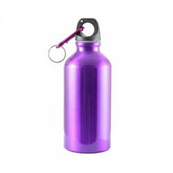 Бутылка Следопыт PF-BD-A400 Питьевая (Алюминий/с Карабином/400мл)