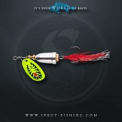 Блесна Вращающаяся Sprut Hito Spinner N2 (6g/TBK)