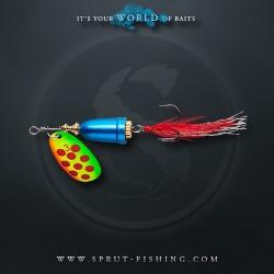 Блесна Вращающаяся Sprut Hito Spinner N4 (14g/FTLR)