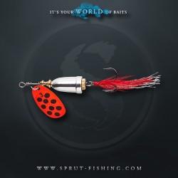 Блесна Вращающаяся Sprut Hito Spinner N4 (14g/OBK)