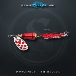 Блесна Вращающаяся Sprut Hito Spinner N4 (14g/SR)