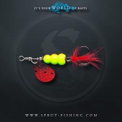 Блесна Вращающаяся Sprut Hoshi Spinner N2 (7g/RBK)