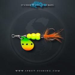 Блесна Вращающаяся Sprut Hoshi Spinner N3 (11g/FTL)