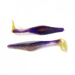 Силиконовая приманка Lucky Craft Double Diamond Swimmer 3-HT01 (Indigo Gold) 1упак*3шт