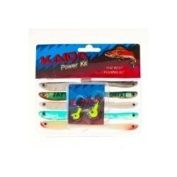 Силиконовые приманки Kaida Power Kit AG004 (10 штук + джиггер)