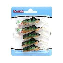 Силиконовые приманки Kaida AG015 (Джиг-головки) 1набор*5шт