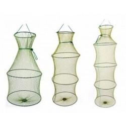 Садок капроновый Три Кита 5 Колец (метал. кольца)