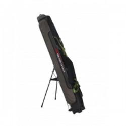 Чехол для спиннинга Kumyang  BG-140 (жёсткий/4 отделения/подставка для чехла)