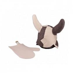 Набор банный Банные штучки Викинг (шапка и руковица)