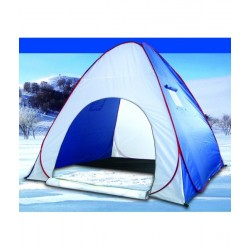 Палатка Зимняя Kumyang Автоматическая/Утеплённая (Белый/Синий/ 2x2м)