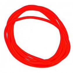 Кембрик Три Кита Флуоресцентный/Красный (d2,0*4,0) 1упак*20шт