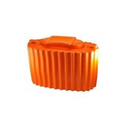Кан Колесник для Живца (Изотермический/ЭВА/7,5л/590г/14x23x36см/Оранжевый)