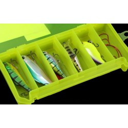 Коробка Три Кита КДП-1 (для Приманок/Жёлтая/190x100x30мм)