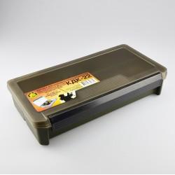 Коробка Три Кита КДК-22 (для Карповых Принадлежностей/Хаки/230x125x50мм)