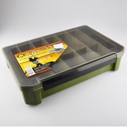 Коробка Три Кита КДК-33 (для Карповых Принадлежностей/Хаки/270x190x60мм)