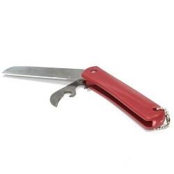 Нож Runis 9-016 Складной (Красный/с Открывашкой)