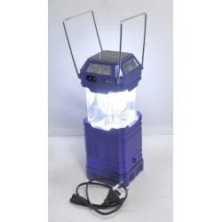 Фонарь Кемпинговый Camping GSH-8009 (COLOR LED/ЗУ/Солнечная Панель)