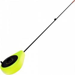 Удочка Зимняя Bravo Fishing Балалайка SP-Y (Жёлтая)