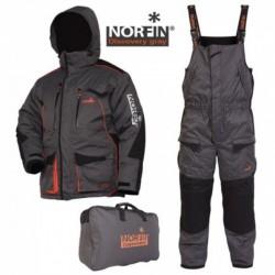 Костюм зимний Norfin Discovery Grey (-35°/Ткань:NorTex Breathable/Утеплитель:Hollofil) 48-50/M