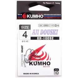 Крючки Kumho Aji Douski N 4 (10092/10шт) 1связка*10упак